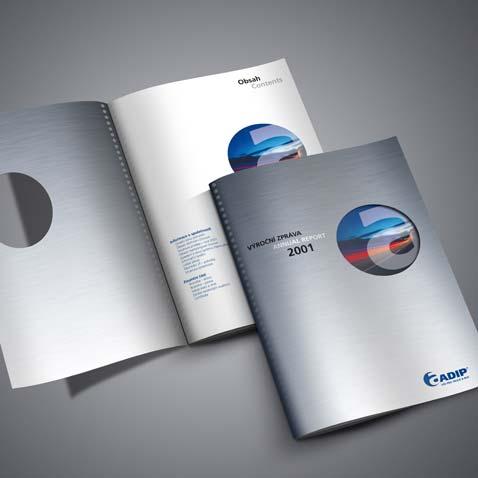 VÝROČNÍ ZPRÁVA 2001 • Klient: Adip, spol. s r.o.