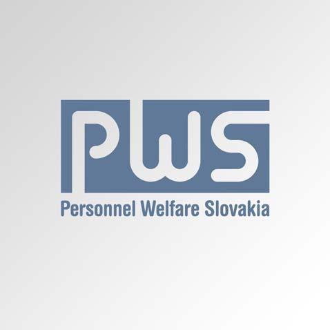 Logotyp společnosti – tvarové řezání kovů • Klient: Personnel Welfare-Slovakia, s.r.o.