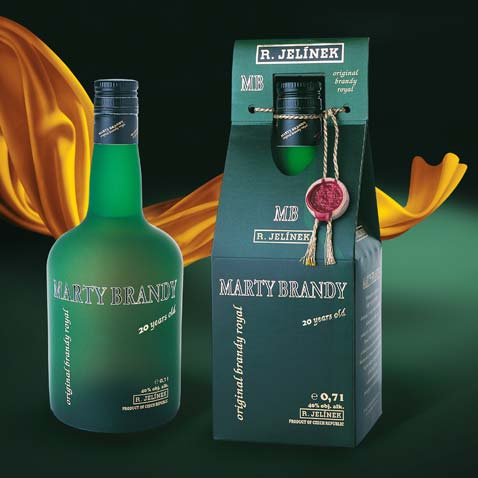MARTY BRANDY • Klient: RUDOLF JELÍNEK a.s.