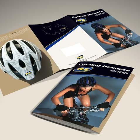 KATALOG CYKLISTICKÝCH PŘILEB 2006 • Klient: Helmets RZ, s.r.o.
